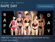 Das Vergewaltigungsspiel «Rape Day» wurde von Steam entfernt