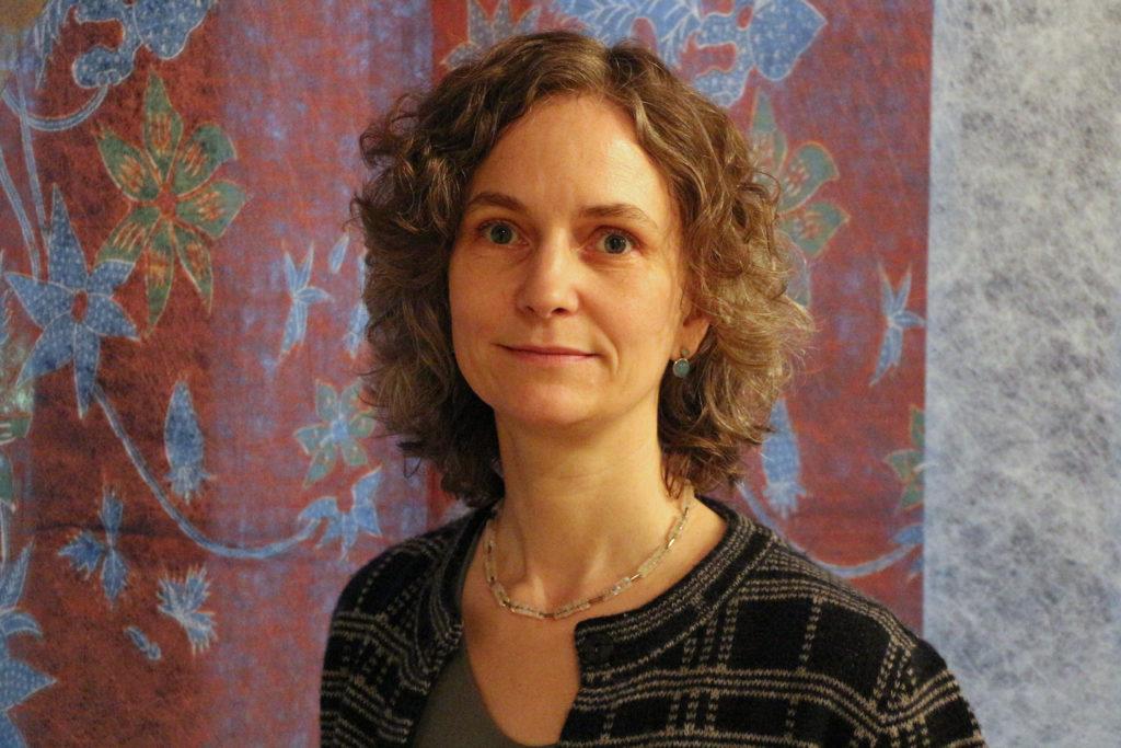Servus Michaela Reichel, herzlich willkommen Barbara Karl – im Textilmuseum St. Gallen ist eine neue Direktorin am Werk