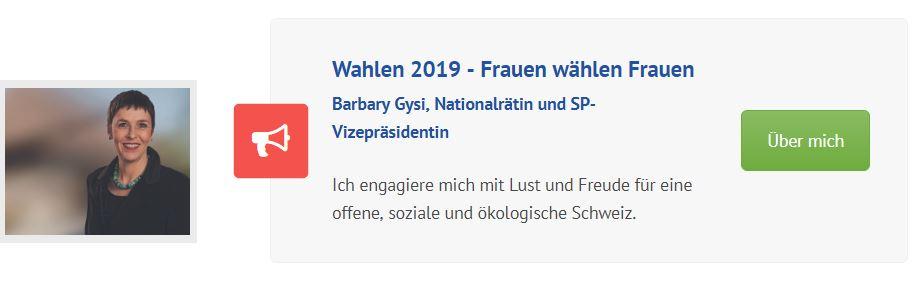 Wahlen 2019 –  Kandidatinnen zeigt auf ostschweizerinnen.ch, wer ihr seid!